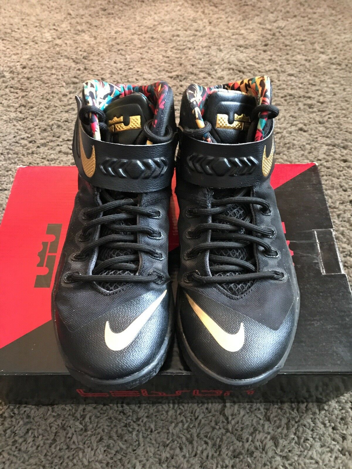Nike Zoom Lebron Soldier 8 Premium Watch The Throne