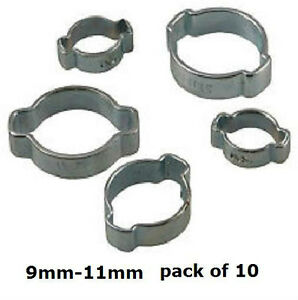 Extend2wash-9-11mm-double-ear-clips-Pack-of-10-FREEPOST