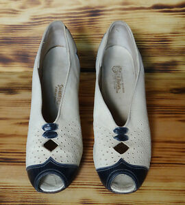 30s-Vintage-Shoes-Peep-Toe-Oxford-Style-Vintage-C-H-Baker-Shoe-Size-4