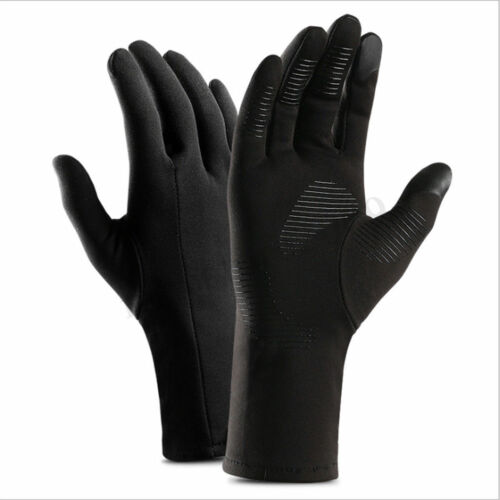 Bike Gloves Winter Thermal Warm Full Finger Skiing Glove Screen Waterproof
