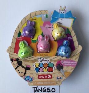 New-Disney-Tsum-Tsum-Exclusive-Tsparkle-Tsurprise-Color-Pop-5-Pack-Large-Easter