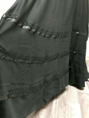 Tamaño 60 Dubai Abaya, árabe, kaftan, farasha, jalabia, vestido maxi, Negro, Paraguas
