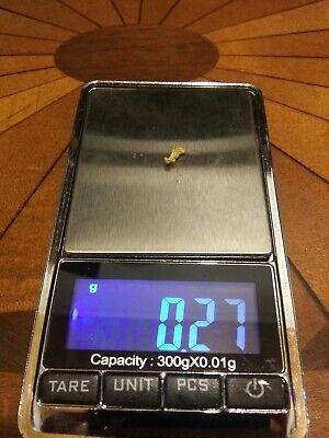 #G595-1 Alaskan Gold TVs Gold Rush 10 pcs Alaska Natural Placer Gold