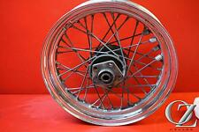 E 89 HARLEY SPORTSTER XL883 XLH883 REAR WHEEL BACK RIM STRAIGHT