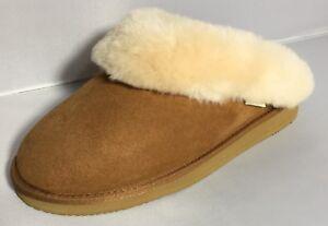 Flamingo-Sheepskin-Slipper-w-Arch-Support-Chestnut-Brown
