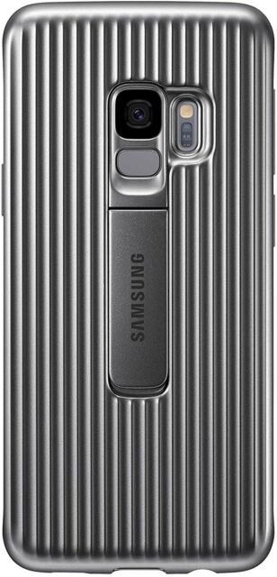 SAMSUNG GALAXY S9 PROTECTIVE STANDING COVER ARGENTO EF-RG960CSEGWW