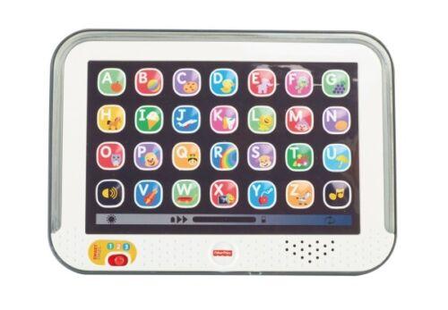 Fisher Price Lernspaß Tablet grau Tablet Kindercomputer Lernspielzeug Baby Kind