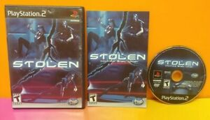 Stolen - PS2 Playstation 2 - COMPLETE Game Tested 1 Owner Works Nice Disc