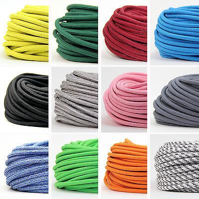 Textilkabel Lampen-Kabel Stoffkabel 2adrig Pendelleitung Stromkabel Elektrokabel
