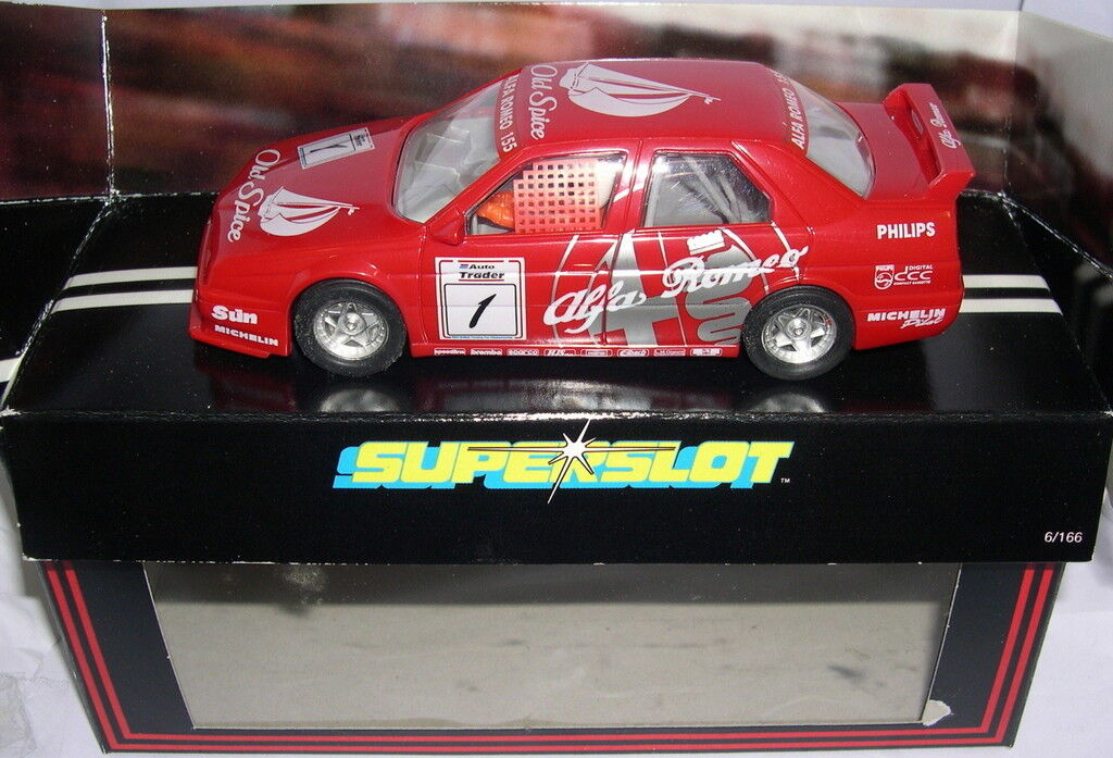BESTELLUNG H536 ALFA ROMEO 155 OLD SPICE  1 SCALEXTRIC UK MB