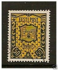 Estonia - 1938, 50s + 50s Kurpesaare stamp - F/U - SG 137
