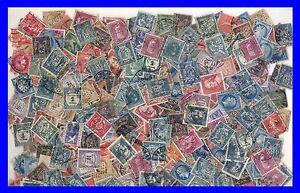 Vrac-PETITS-FORMATS-avant-1960-Obliteres-200-Timbres-France-avec-CLASSIQUES