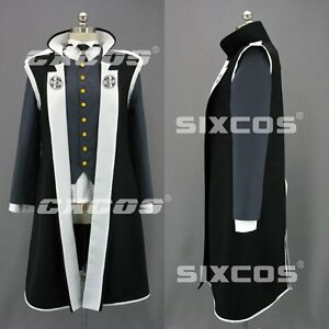 Details about Ace Attorney Dual Destinies Simon Blackquill cosplay costume  black