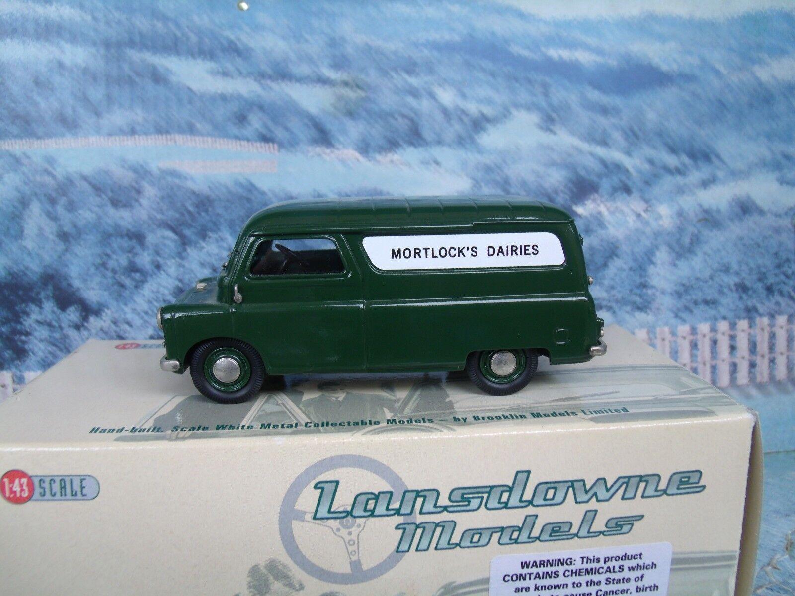 1/43 Brooklin models  LANSDOWNE 1965 BEDFORD CA van  LDM39 bianca metal