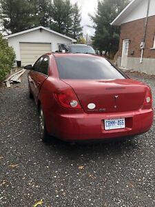 2009 Pontiac G6 red