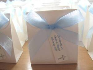 Details about Personalised Christening Favours First Holy Communion Gifts Favours