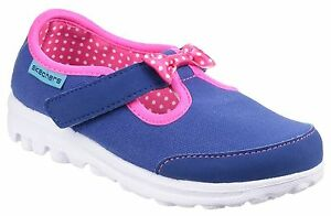 eea8a96fde87 Skechers Go Walk Bitty Bow Kids Girls Infants Sports Trainers Shoes ...