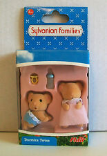 "SYLVANIAN FAMILIES 4471 DORMICE TWINS 2 X 1¾"" Figures"