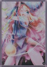 (100)YuGiOh Standard Size Sleeve Dark Magician Girl Card Sleeves 100 pieces #29