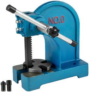 Pressa-Manuale-Pressa-Cremagliera-Manuale-da-Tavolo-Punzonatrice-Fino-a-0-5T