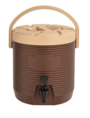 Thermo Getränkebehälter Thermobehälter 17 Liter Thermospender Braun Gastlando