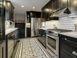 Patterned Ceramic Kitchen Bathroom Decorative Vintage Tile Backsplash Tiles Ebay