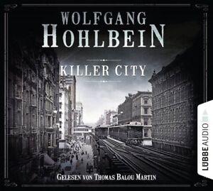 WOLFGANG-HOHLBEIN-KILLER-CITY-6-CD-NEW
