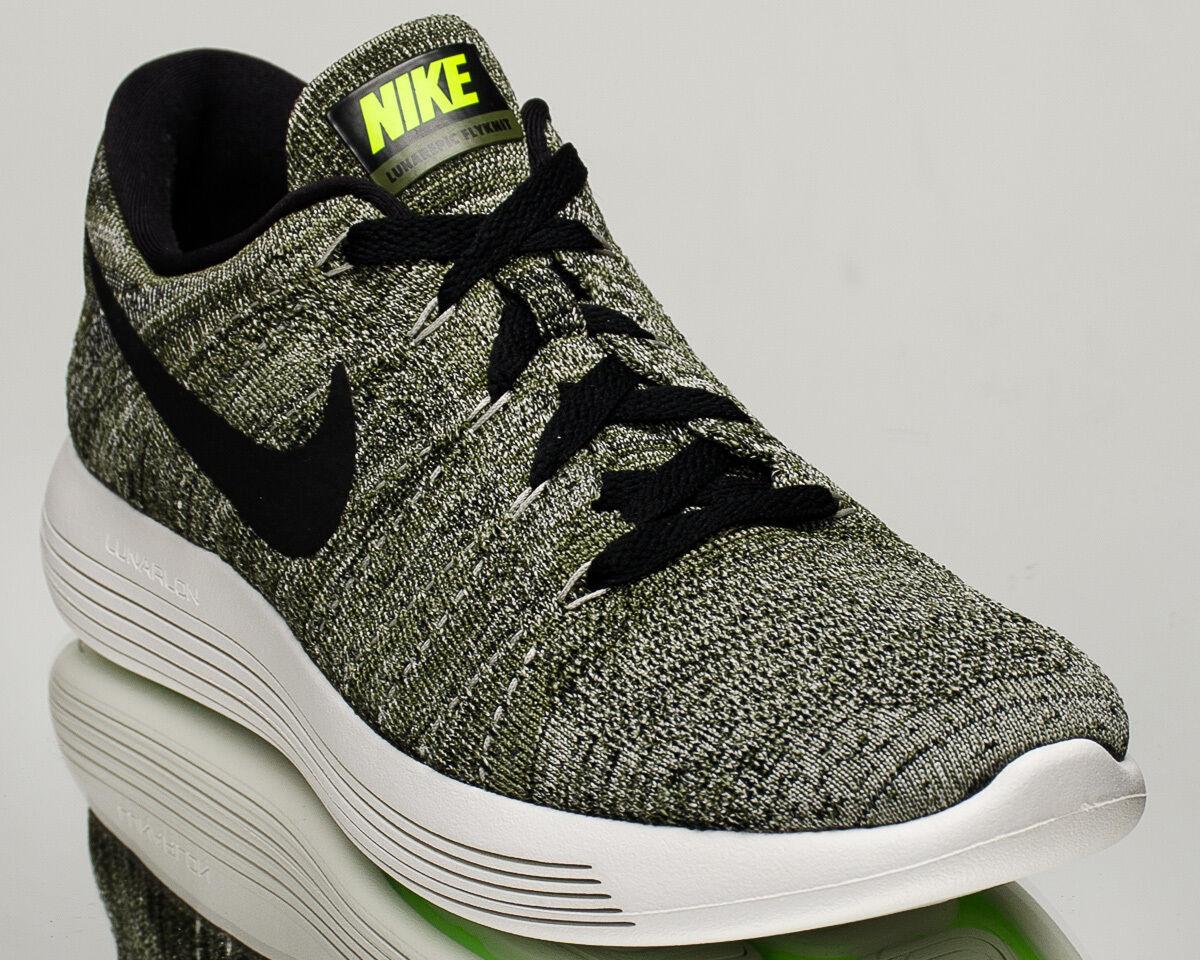Nike Lunarepic Low Flyknit Hommes running run run run Baskets chaussures NEW vert 843764-303 d95a41