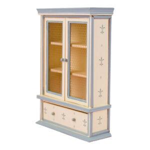 1-12-Dollhouse-Mini-Meubles-En-Bois-Armoire-etagere-Avec-Tiroir-Scenes