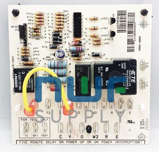nordyne intertherm miller defrost control circuit board 624656 ebay rh ebay com Nordyne Electric Furnace Wiring Diagram Nordyne Furnace Wiring Diagram