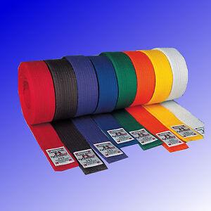 Budoguertel-Kampfsport-Karate-Judo-Budo-Guertel-einfarbig-DANRHO-Gr-160-350