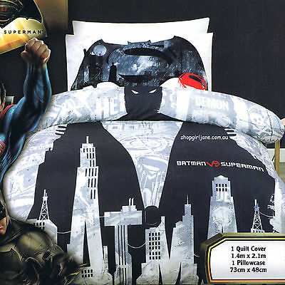 Single//US Twin Bed Quilt Doona Duvet Cover Set Hello Kitty Folk