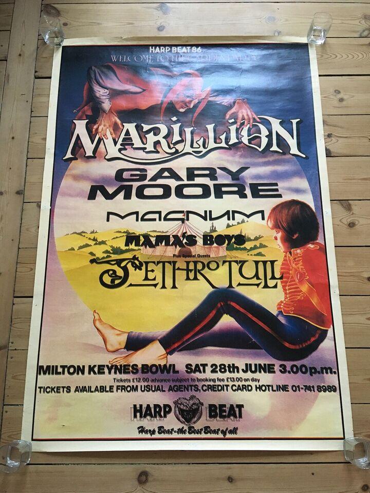 Plakat, motiv: Milton Keynes Bowl, b: 100 h: 145