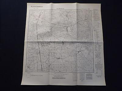 KüHn Landkarte Meßtischblatt 3952 Gr. Muckrow, Kreis Lübben, Landkreis Guben, 1934 Diversifiziert In Der Verpackung