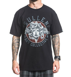 c460ffb90cc Sullen Clothing Mens Medusa Black Premium T Shirt from Sake Tattoo ...