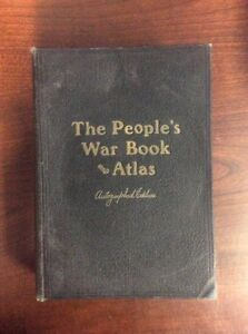 The peoples war book and atlas 1920