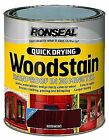 Ronseal Woodstain Quick Dry Satin Rosewood 250ml Rslqdwsr250