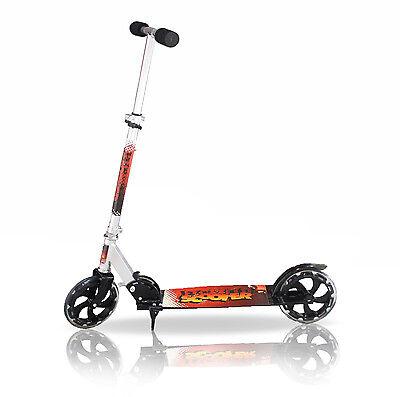 Ragionevole Monopattino In Alluminio Ruota 20 Cm Richiudibile Regolabile 2 Ruote Scooter Facile Da Lubrificare