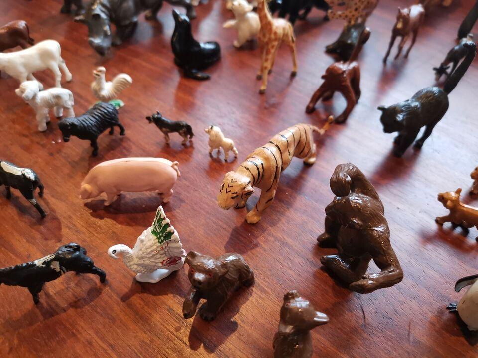Bondegård, 50 forskellige dyr, .