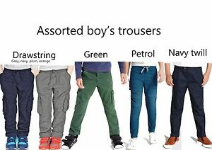 BOYS-CHINO-TROUSERS-EX-CHAINSTORE-SIZES-12-MONTHS-UNTIL-14-YEARS