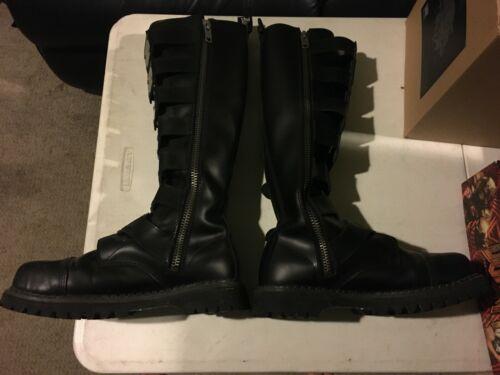 Demonia Reaper 30 Boots Unisex Size 10 Excellent C