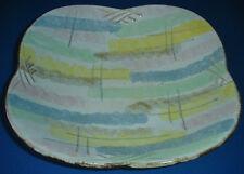 Carstens Tönnieshof Schale Teller Keramik 50er Jahre 50s pottery Germany Rimini