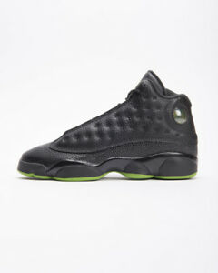 Air Jordan 13 Retro BG Altitude Green 414574-042 GS Youth Basketball ... 27b2576cb