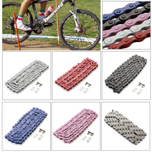 "PYC C410 Chain BMX 1//2/"" x 1//8/"" Single Speed Bike Fixed Chain Bicycle 114 Link"