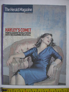 The-Herald-Magazine-13th-November-2010-Hayley-Atwell-cover-Invented-in-Scotland