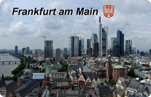 Aimant Bouclier magnétique-Motif Frankfurt am Main III Réfrigérateur Magnétique