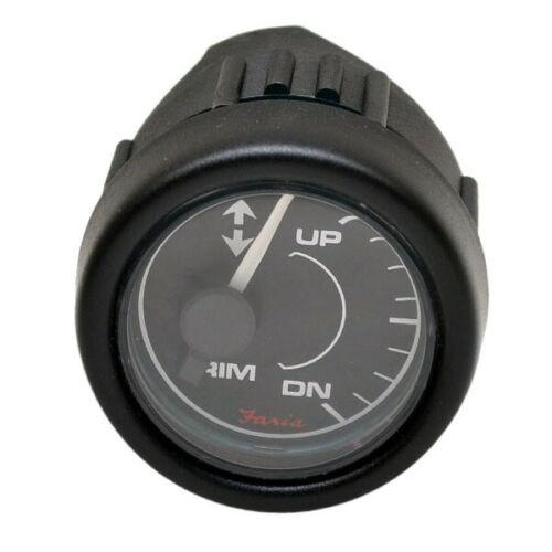Faria Boat Trim Gauge GP7361AOMC 2 Inch Black