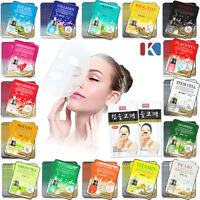 5pcs Korean Beauty Essence Facial Mask Sheet Moisture Face Mask Pack Skin Care