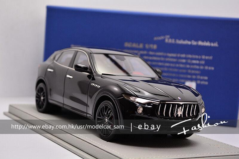 BBR 1 18 Maserati Levante Noir