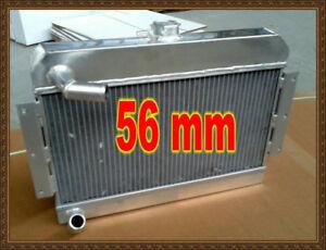 ROADSTER 1.8 1977-1980 manual Aluminum radiator blue hose for MG MGB GT